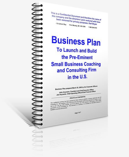Business plan buy existing company